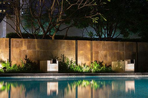 outdoor lighting design services